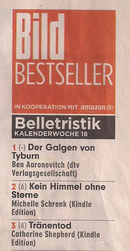 BILD Bestsellerliste Belletristik